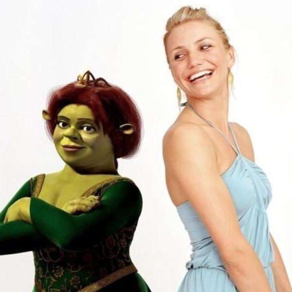 Cameron Díaz Fiona Shrek