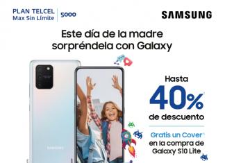 Este Día de las Madres sorpréndela con un Galaxy con hatsa 40% de descuento