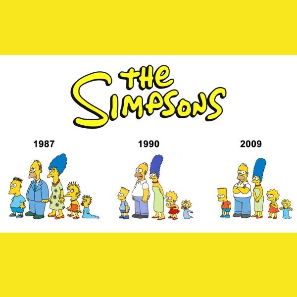 fa familia simpson en 1987