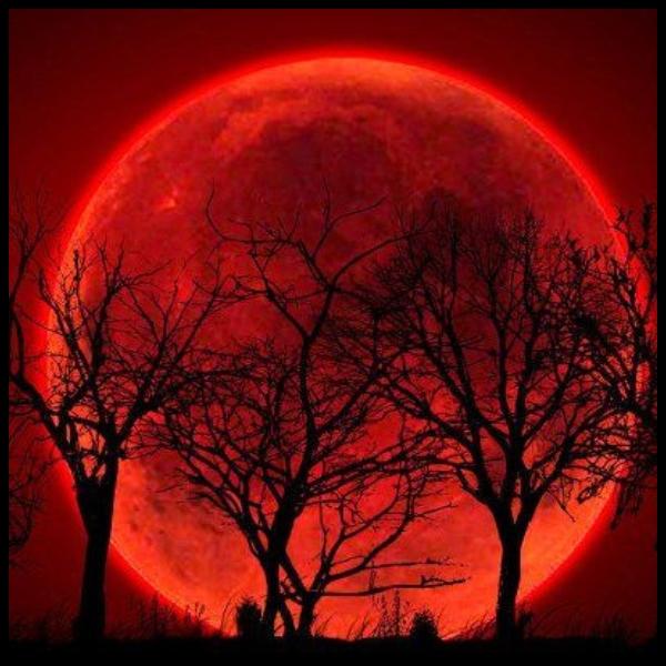 eclipse de luna de sangre