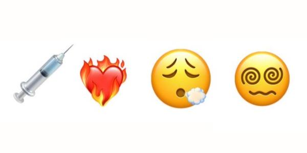 Cuatro nuevos emojis llegan a iOS 14.5, iPhone, vacuna, corazón