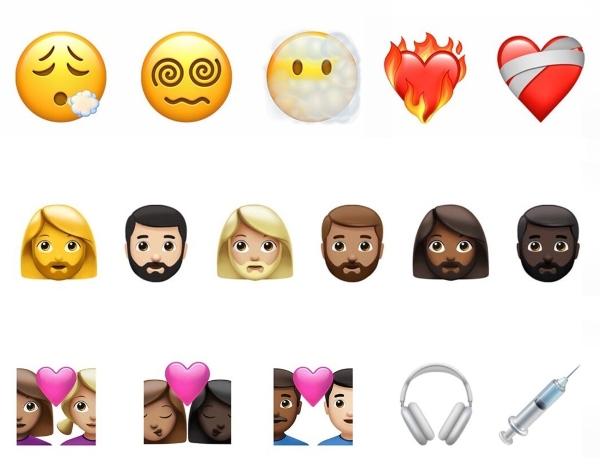 Nueva colección de emojis iOS 14.5 Iphone