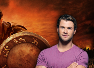 Chris Hemsworth en gladiator 2