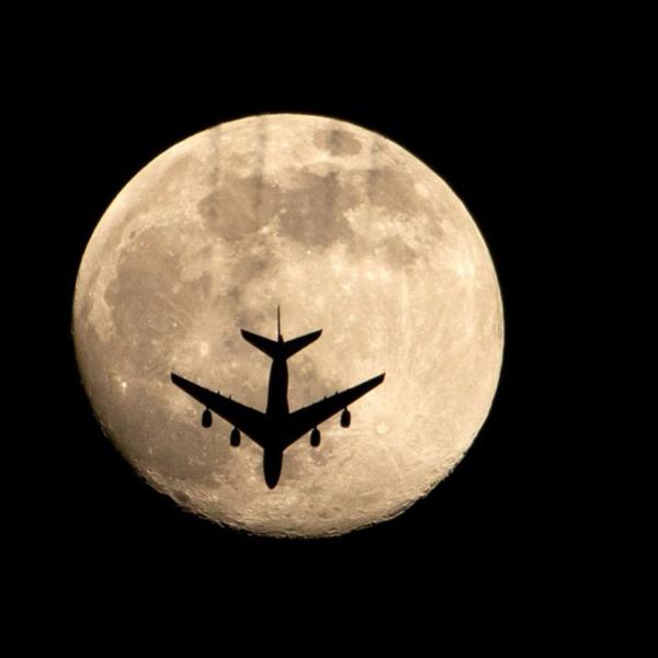 las mejores imágenes de la Superluna Rosa