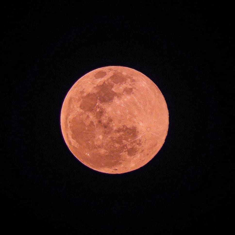 las mejores fotos superluna rosa
