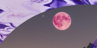 Superluna rosa de abril