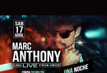 Marc Anthony concierto online 17 de abril de 2021 Huawei Telcel