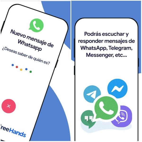 MyFreeHands aplicación Google Play para respuestas automáticas en WhatsApp mientras vas manejando