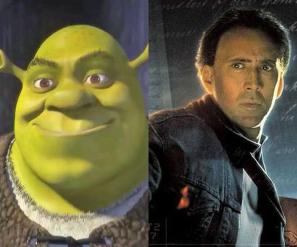 Nicolas Cage le iba a prestar voz a Shrek