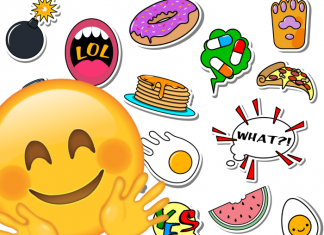 Emoji feliz, pack de stickers WhatsApp