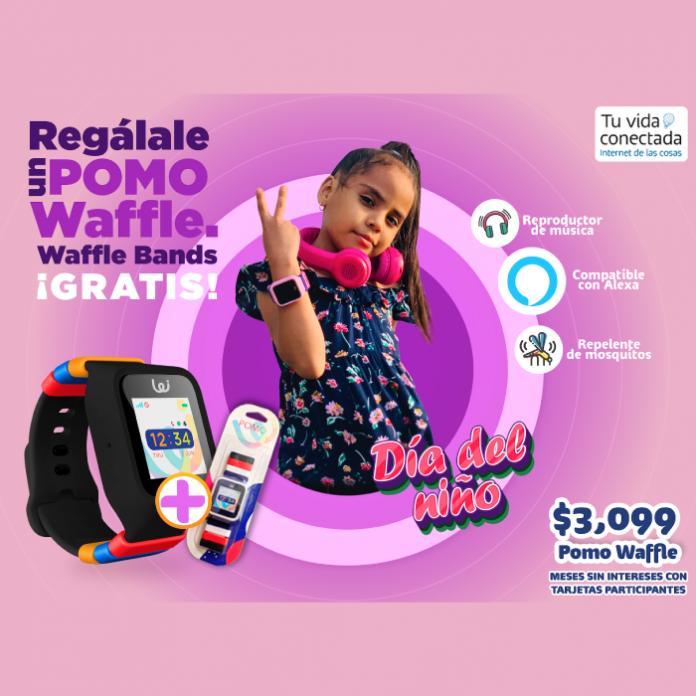 Pomo Waffle regalo el Día del Niño Tu Vida Conectada