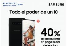 promocion Samsung Galaxy 10