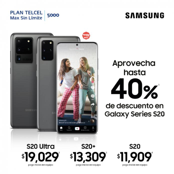 promocion Samsung Galaxy s20