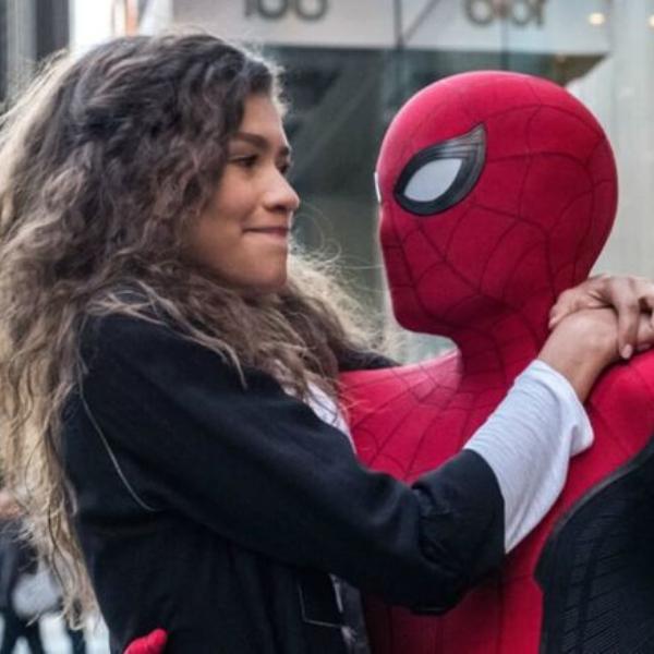 Spider-Man y MJ, Tom Holland y Zendaya