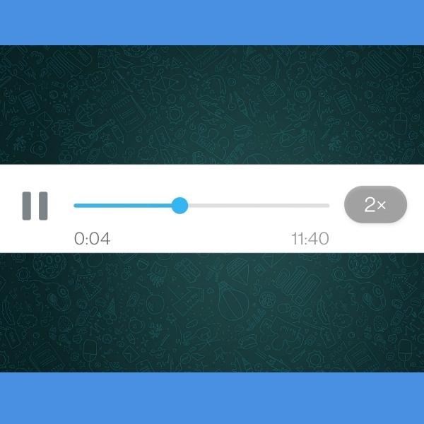 reproducir audios a diferentes velocidades en WhatsApp