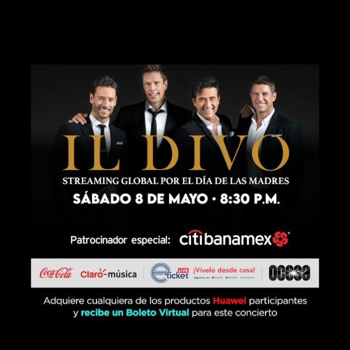 boletos del concierto de Il Divo