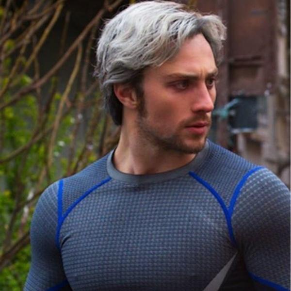 Aaron Taylor-Johnson en su papel como Quicksilver, quien ahora será Kraven el Cazador- Blog HolaTelcel