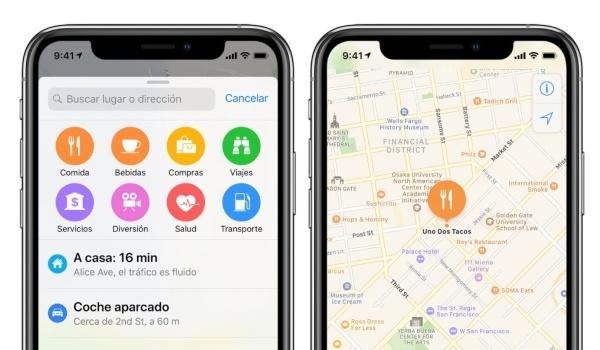 Apple Maps, función para conocer dónde estacionaste tu carro- Blog HolaTelcel
