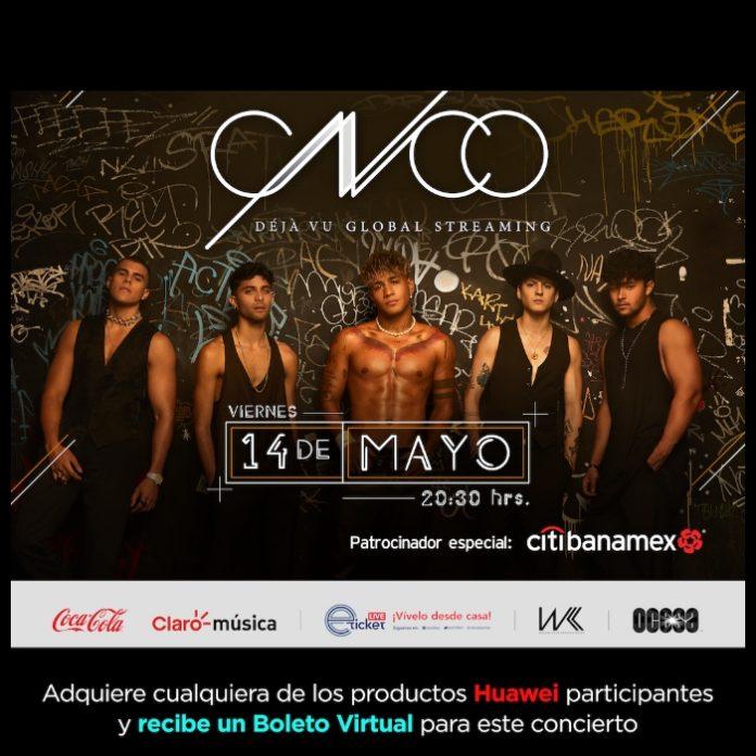 Huawei y Claro música te regalan tu boleto virtual para el concierto de CNCO