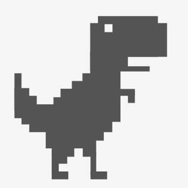 Dinosaurio de Google gráfico