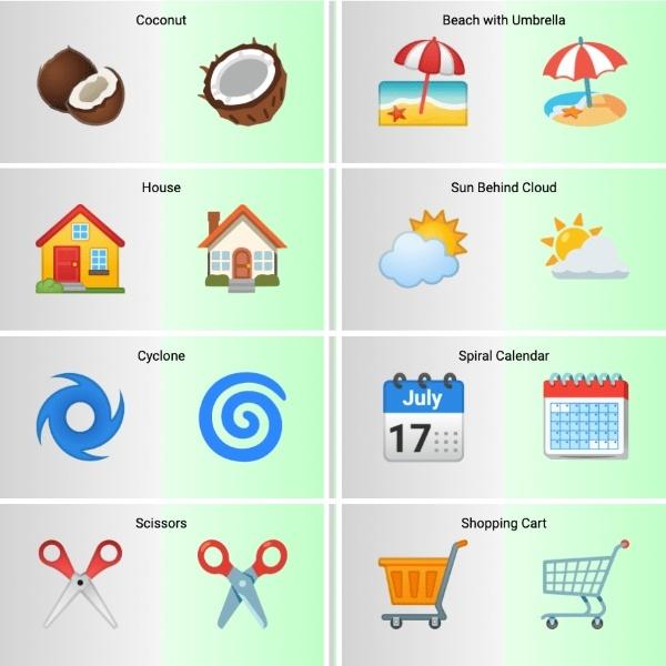 emojis de android 12 muestran casi 400 cambios - Blog Hola Telcel