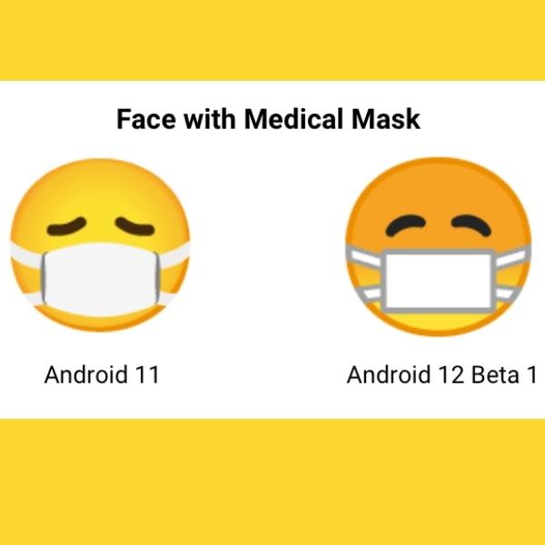 nuevo emoji de mascarilla en android 12 - Blog Hola Telcel