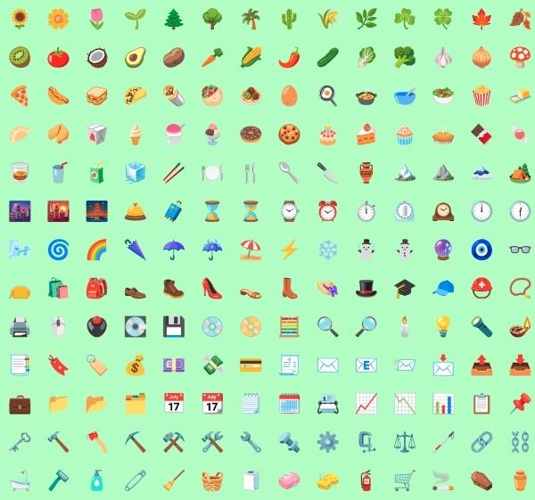 android 12 ha modificado la apariencia y colores de sus emojis - Blog Hola Telcel