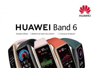 Huawei Band 6, pantalla FullViwe, dos semanas de batería