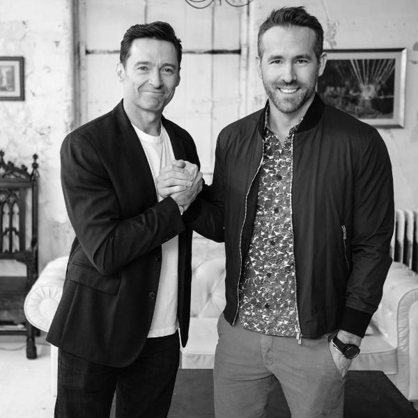Hugh Jackman y Ryan Reynolds juntos foto