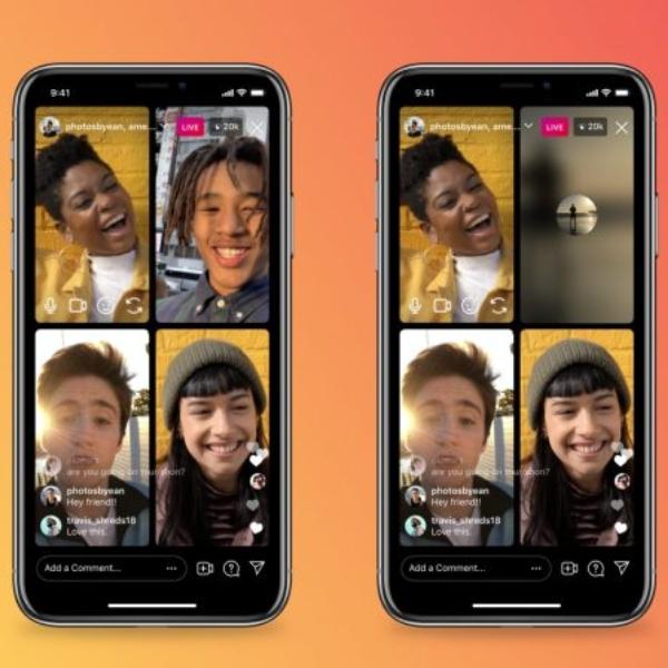 Instagram Live Rooms nueva función para hacer salas de voz y transmisiones