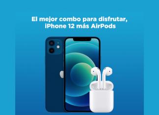 Telcel tiene para ti una increíble promoción en donde será tuyo un nuevo iPhone 12 de 64 GB más AirPods, el combo perfecto para complementar tu día a día