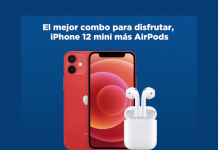 iPhone 12 mini más airpods