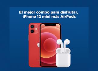 iPhone 12 mini más airpods