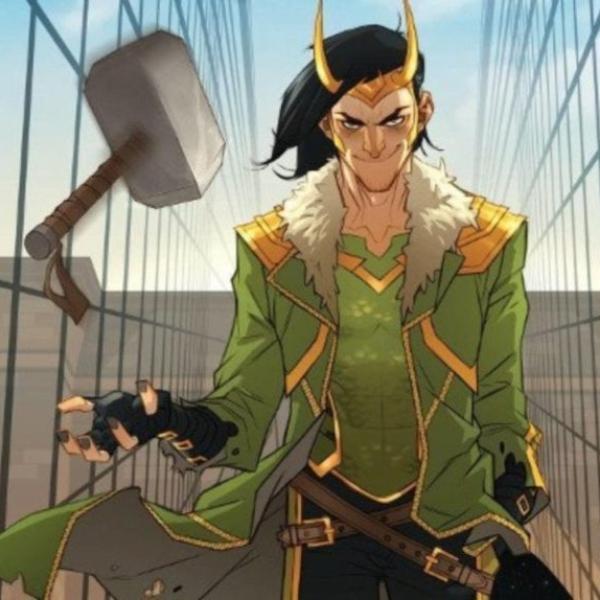 Loki Mjölnir magia