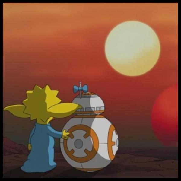corto de maggie en el día de Star Wars