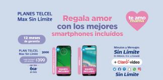 Contrata o renueva un Plan Telcel Max Sin Límite y recibe de regalo un nuevo equipo Telcel, más redes sociales ilimitadas, el Doble de Gigas y minutos y mensajes en México, Estados Unidos y Canadá.