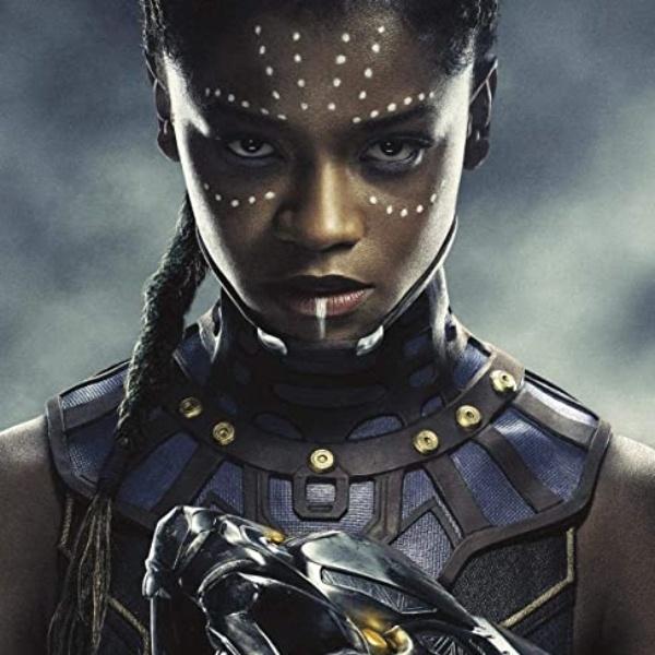 Letitia Wright Shuri, hermana Black Panther