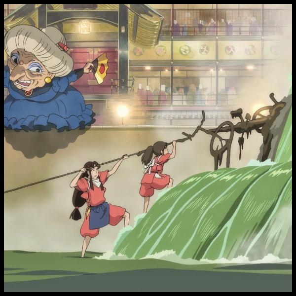 escena de El Viaje de Chihiro