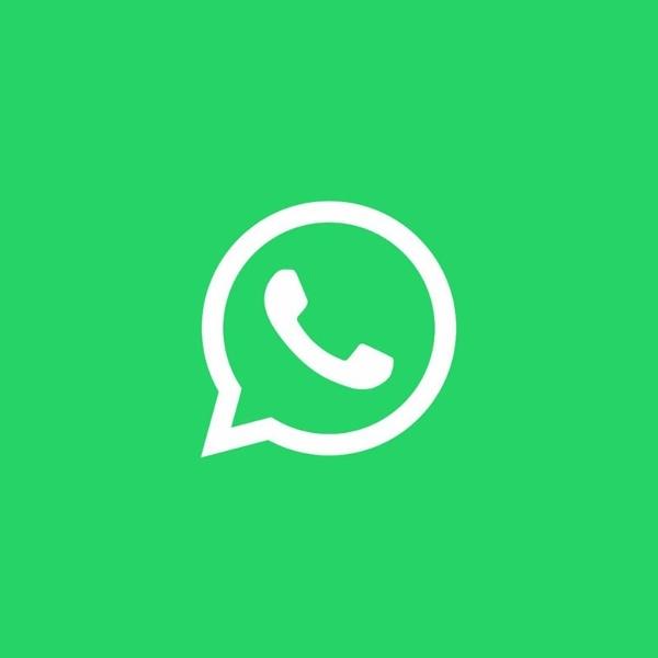 WhatsApp fondo verde icono