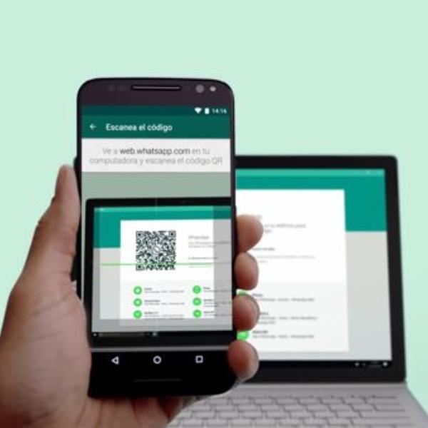 Función multidispositivo en WhatsApp Web