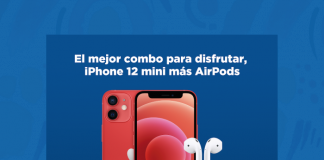 Promoción iPhone 12 mini + AirPods en Telcel -Blog hola telcel