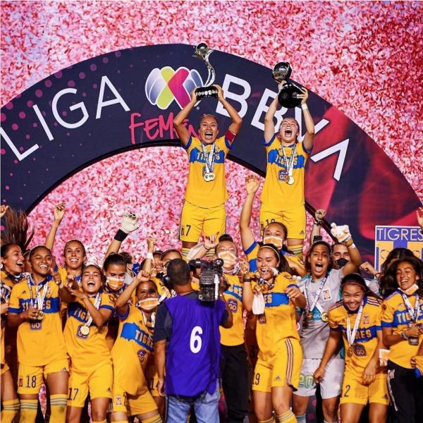 Tigres femenil, bicampeonas de la Luga MX femenil del futbol mexicano- Blog HolaTelcel
