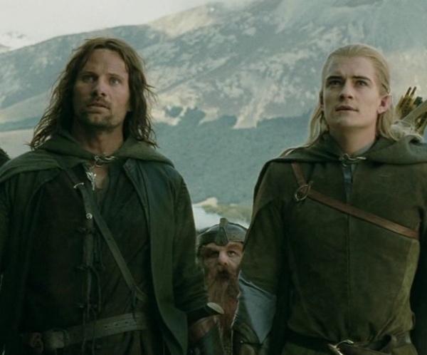 Aragon y Legolas en El señor de los anillos: Las dos torres, previo a la batalla en el Abismo de Helm- Blog Hola Telcel