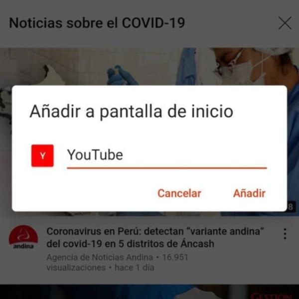 Cómo añadir Brave Browser con YouTube para acceso directo.- Blog Hola Telcel