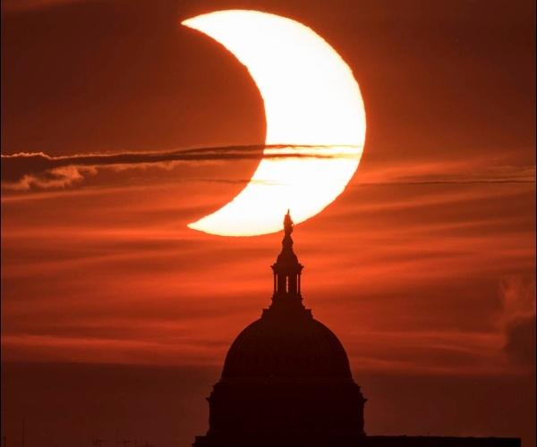 Fotografía del Eclipse de Sol capturado por la NASA- Blog Hola Telcel