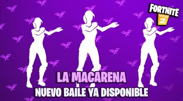 La Macarena nuevo baile ya disponible en Fortnite 2.- Blog Hola Telcel
