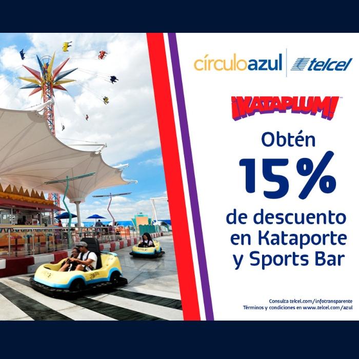 CírculoAzul Telcel y Kataplum te dan 15% de descuento en tu Kataporte - blog hola telcel