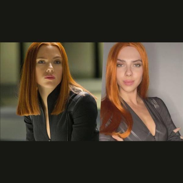 tiktoker rusa que se parece a Scarlett Johansson