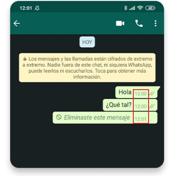 Cómo cambiar la hora en los mensajes de WhatsApp ya enviados desde los Ajustes de teléfono- Blog Hola Telcel