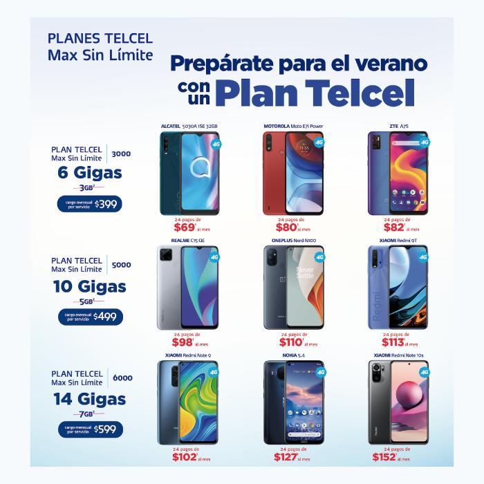 el celular ideal para el verano con tu Plan Telcel- blog hola telcel